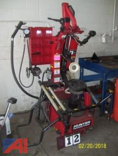 Hunter Engineering Tire Machine