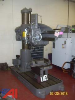Carlton 4' Radial Arm Drill Press