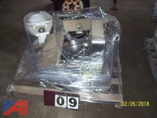 Pallet of Sinks and Toilets