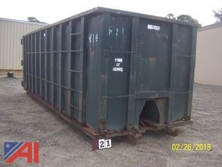 Devito 40CYD Dumpster