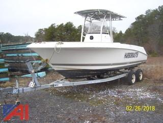 2006 Wellcraft 22' Center Console Open Boat with Trailer