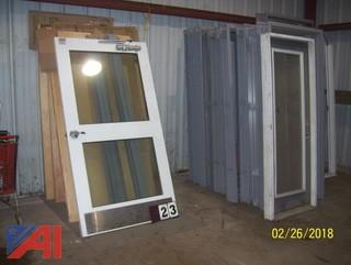 Wood Doors with Frames