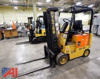 Hyster E50XL 5000 Lb 36V Forklift