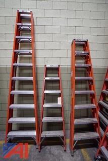 (6) 6'-10' Louisville Step Ladders