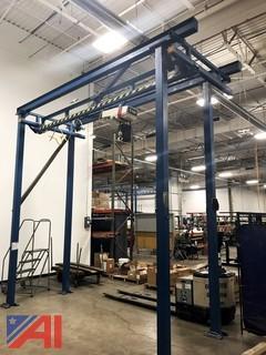 HD Gantry Crane/1 Ton Coffing Hoist
