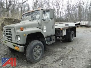 1984 International 1854 Flat Bed Truck