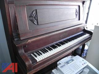 Holmes Music Company Upright Piano