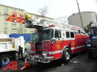 1998 Seagrave Fire Ladder Truck
