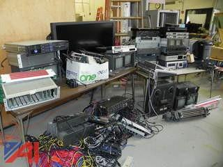 Large Lot of Various Broadcast Equipment