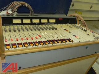 Wheatstone A-500a Radio on Air Console, Analog Broadcast Console