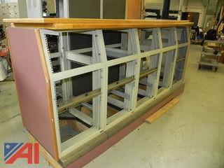 Lot of Metal Cabinets to Hold Rack Mounted Electronics