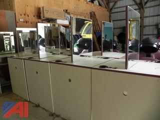 (10) Belvedere Dual Vanity Stands