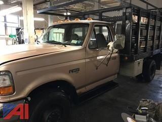 1996 Ford F450 SD Stake Truck