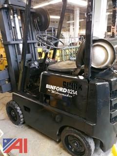 Clark Binford 8214 Propane Forklift
