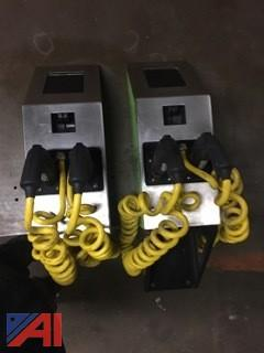 (1) Electric Vehicle Charging Station