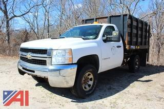 2007 Chevrolet Silverado 3500 HD Rack Truck