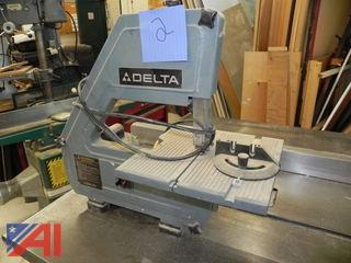 "Delta Model 28-160 10"" Bench Top Band Saw"