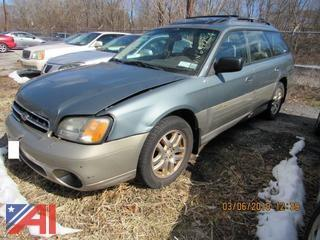 **Lot Updated** 2002 Subaru Legacy 4 Door