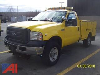 2006 Ford F350 SD Utility Truck