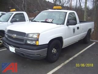 2005 Chevy Silverado 1500 Pickup