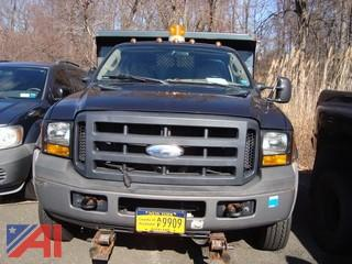 2006 Ford F550 Pickup with Dump Body