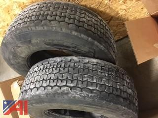 (2) Good Year Super Single Tires