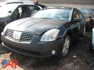 **Lot Updated, Vehicle is Bill of Sale Only** 2005 Nissan Maxima 4DR