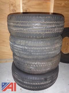 (4) Continental Contitrac TR Tires