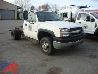 2003 Chevrolet Silverado 3500 Cab and Chassis