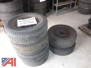 (6) Goodyear Eagle Tires and Rims