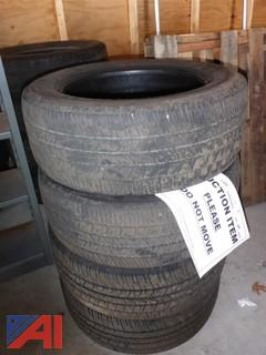 (4) Goodyear Eagle RSA Tires