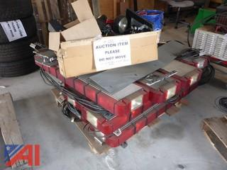 (11) Whelen Light Bars and Miscellaneous Lights