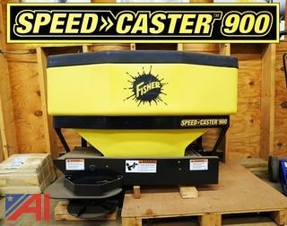 New Fisher Speed-Caster 900 Tailgate Spreader