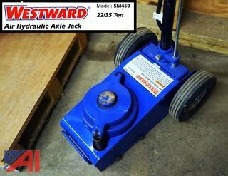 Westward #5M459 Air/Hydraulic Jack 22 or 35 tons