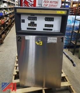 1000 Gallon Fuel Tank With Gasboy Pump & Card Reader