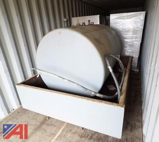 500 Gallon Stationary Fuel Tank