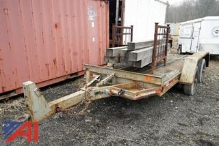 1988 DY/WE Tilt Deck Equipment Trailer