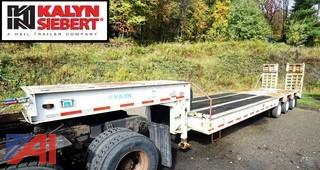 1995 Kalyn 35 Ton Lowboy Trailer