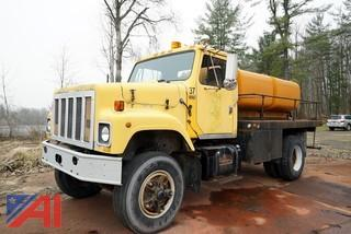 *UPDATED* 1985 International 2574 Flatbed with Fuel Tanks