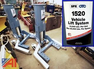 OTC #1520 20-Ton Mobile Vehicle Lift System