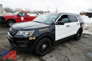 **4% BP** 2016 Ford Explorer Police Interceptor SUV #64