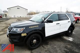 **4% BP** 2016 Ford Explorer Police Interceptor SUV #65