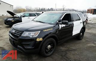 **4% BP** 2016 Ford Explorer Police Interceptor SUV #66