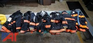 (13) Fire Protective Heavy Dark Turnout Jackets