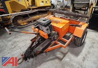 Municipal Sewer Cleanout Machine & Trailer