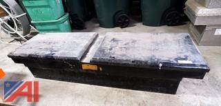 Steel Saddle Toolbox For Pickup Trucks