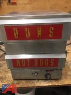 Hot Dog / Bun Steamer
