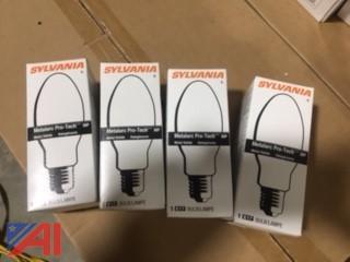 (4) Sylvania Metalarc Lamps