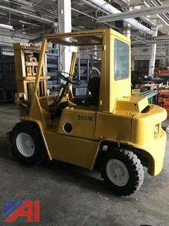 Clark 6,000 lb Pneumatic Forklift