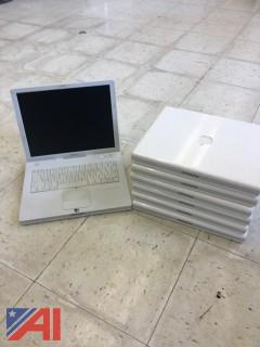 "(7) Apple G4 15"" Laptops"